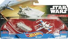Hot Wheels Star Wars - Transporter vs Resistance X-Wing Fighter, CKJ81,Vehicle