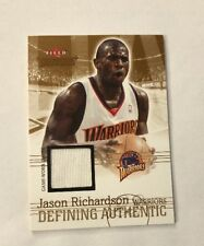 2004-05 Fleer Throwbacks Defining Authentic Jason Richardson Jerseys #JR