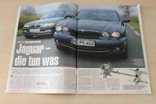 Auto Bild 16608) Jaguar X-Type 3.0 V6 Sport mit 231PS im TEST auf 4 Seiten