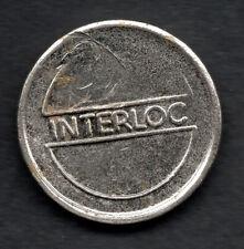 1980's Interloc locker token Australian. Rare. Free postage Australia