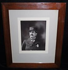 1900 Laconia, NH Police City Marshal Portrait Photo in Original Period Frame