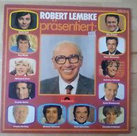 ROBERT LEMBKE präsentiert Karel Gott, Roy Black, etc LP Vinyl Schallplatten