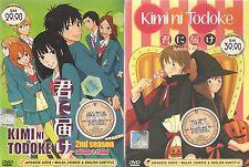 DVD Kimi Ni Todoke (Sea.1 + 2) DVD ( Eng SUB )