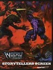 WEREWOLF THE APOCALPYSE STORYTELLER'S SCREEN VF! QUAD-FOLD Were Wolf Game Master