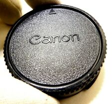 CANON Rear FD Lens CAP Genuine OEM manual focus lenses  - - -  Free Shipping USA