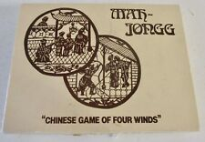 MAH JONG ~ CHINESE GAME OF FOUR WINDS ~ HP GIBSON