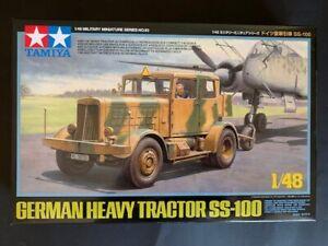 Tamiya SS100 Heavy Tractor 1/48 NEW