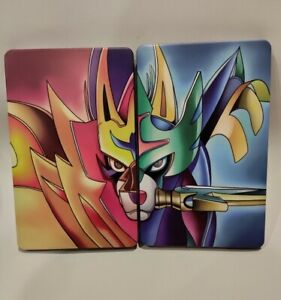 NS Pokemon Sword and Shield iron box case Steelbook for Switch Game Card