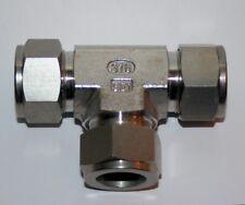 """3/4"""" OD Tube SS Tee Compression Fitting Ham-Let LET-LOK 764L_3/4"""