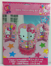 HELLO KITTY BIRTHDAY TABLE DECORATING KIT CENTERPIECE - NEW