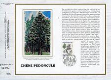 FEUILLET CEF / DOCUMENT PHILATELIQUE / CHENE PEDONCULE / 1985 ORLEANS