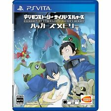 Digimon Story Cyber Sleuth Hacker's   PS Vita SONY Playstation JAPANESE VERSION
