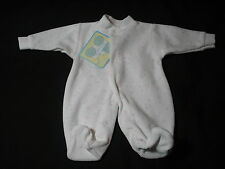 Premature  Baby Preemie Sleepsuit All in one Babygrow Tiny velour boy girl New