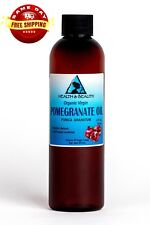 POMEGRANATE SEED OIL UNREFINED ORGANIC COLD PRESSED VIRGIN RAW FRESH PURE 4 OZ