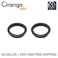 VW Jetta 2011- Front Door Speaker Adaptors Adapters Rings 16 cm 165 mm 6.5""
