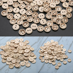 15mm  20mm 25mm Handmade with love Buttons Scrapbooking Sewing B 100pcs/pack