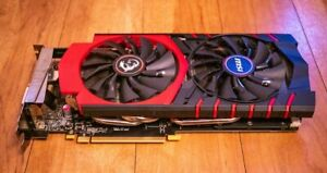 MSI NVIDIA GTX 970 Gaming Twin Frozr HDMI DVI-I DP Graphics Card 4GB DDR5