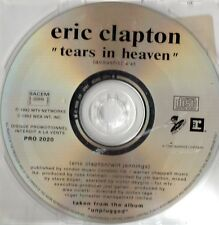 Eric CLAPTONTears In Heaven French promo CD SINGLEPRO2020 REPRISE1992France