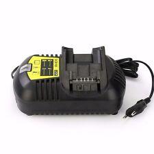 New 10.8V-20V Power Tool Battery Charger For Dewalt DCB120 DCB203 DCB204 DCB180