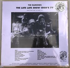 THE RAMONES The Late Late Show CBGB'S 77 Live 02/04/1977 LP PURPLE VINYL @NEW@