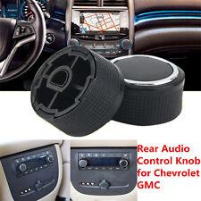For 2007-2013 GMC Chevrolet Caddillac Buick Rear Radio Music Control Knob Button