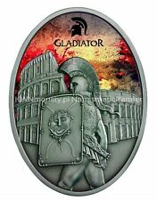 GLADIATORS PROVOCATOR Silver Coin 10$ Fiji 2013