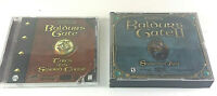 Baldur's Gate Tales of the Sword Coast & Shadows of Amn D&D PC Lot 1998, 2000!