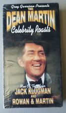 The Dean Martin Celebrity Roasts Jack Klugman and Rowan & Martin VHS New COMEDY