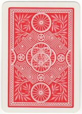 Playing Cards 1 Single Swap Card - Old Vintage Wide BICYCLE BIKE WHEELS Cycling