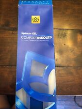 Spenco Gel Comfort Shoe Insoles - Blue Women's 3 4 New
