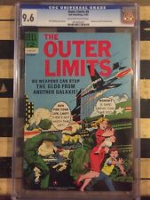 CGC (DELL) OUTER LIMITS, DELL # 8 NM+ 9.6 1965  013