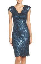 NWT $328 Tadashi Shoji Sequin Lace Dress 2