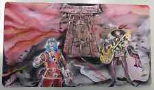 Yu Gi Oh TAPPETINO Playmat DANTE VIRGILIO ALLE PORTE DELL'INFERNO.. HANDPAINTED