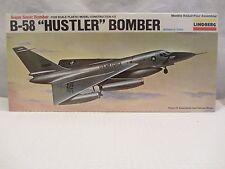 """Lindberg   B-58 """" Hustler """" Bomber  Model Kit  NIB  1:128 scale  (715H)  5402"""