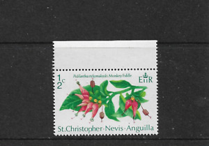 1971 ST CHRISTOPHER NEVIS ANGUILLA STAMP - Mint Never Hinged.
