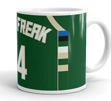 NBA Giannis Antetokounmpo Greek Freak Jersey Bobblehead Mug Bucks Milwaukee Nike