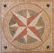 ROSONE mosaico in marmo MOD.ROSA 120X120 INCOLLATO SU RETE