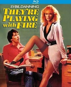 They're Playing with Fire BLU-RAY NEW