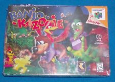 Banjo-Kazooie (Nintendo 64, 1998) N64 Brand New Factory Sealed - RARE