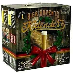 Bier Adventskalender 24 deutsche Bier Spezialitäten - Weihnachtskalender