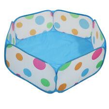 Piscine à Balles Enfant Parc à Bébé Tente Plier Pop-up Jeu Tente