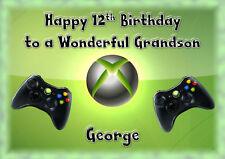 Personalised birthday card x box son grandson nephew daughter granddaughter