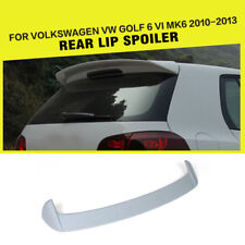 Rear Roof Spoiler C Style Wing Lip Fit For VW Golf 6 VI MK6 2010-2012 Unpainted