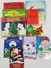 Lot of 10 CHRISTMAS BOARD Books Lot X17 - Ships FREE