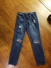 Ladies/jr Girls Forever 21 Destructed Skinny Jeans Size 26