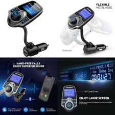 Am FM Transmitter For Car Aux Bluetooth Adapter Wireless An USB Victsing Radio