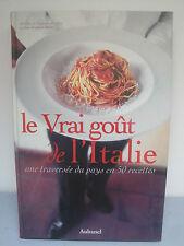 Livre de Recettes Italiennes - Le Vrai Goût de l'Italie