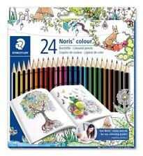 24 Premium Colored Pencils For Adult Coloring Books Drawing Pencil Art Set
