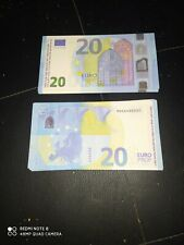 Top lot Billet 20 Euro Film Clip Money Movie X20  reproduction .