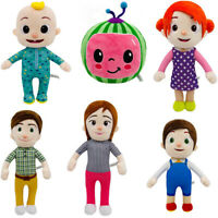 Anime Cocomelon JJ's Family Educational Plush Doll Stuffed Toy Kids Xmas Gifts